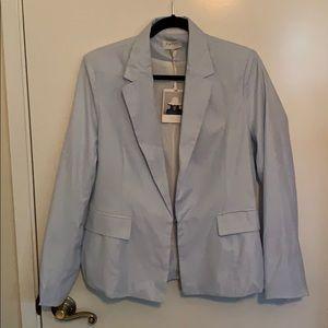 NWT Harlyn light blue lined blazer